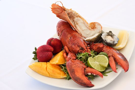 Tides Waterfront Dining: Seafood Plate