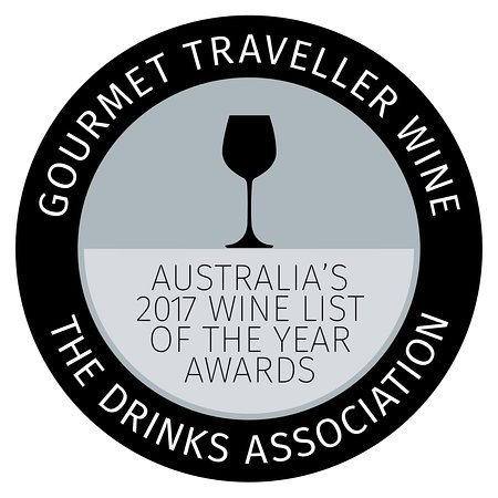 Tides Waterfront Dining: Australian Wine List of the year 2017