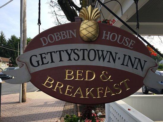 Gettystown Inn Bed & Breakfast: Inn Sign