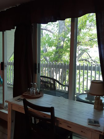 Pictou, Canada: Beautiful having a desk in the room-balcony