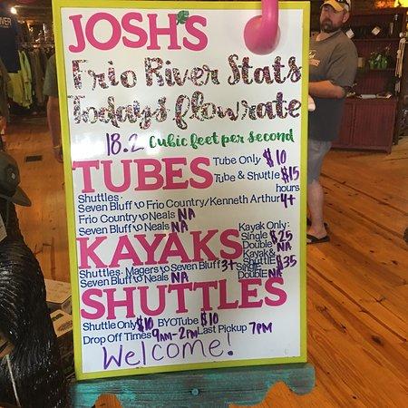 Josh's Frio River Outfitters Concan, TX – kép