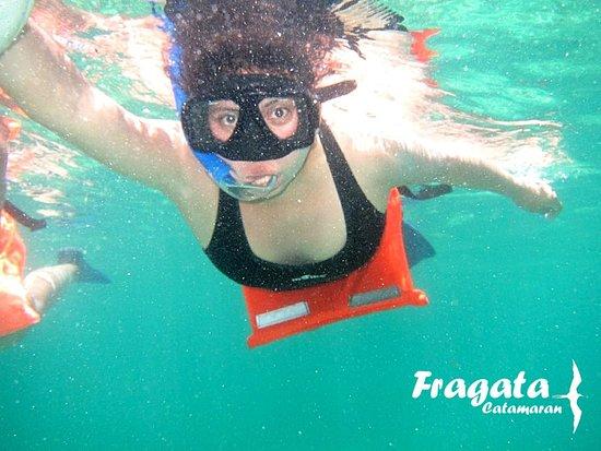 Fragata Catamaran: TOUR