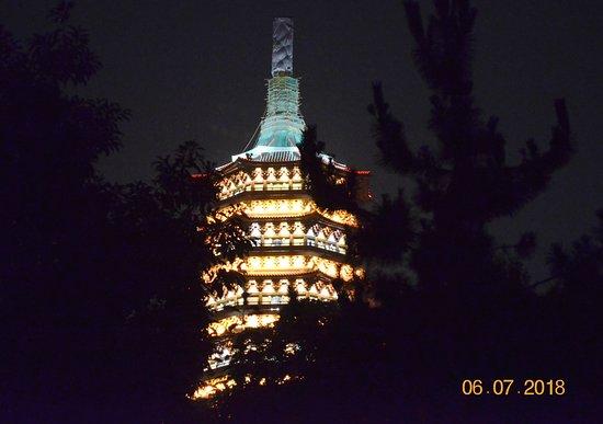 Leifeng Pagoda: Leifeng Tower at Night