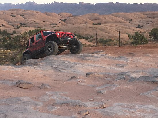 Dan Mick's Guided Jeep Tours: Two tires