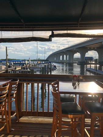 Outdoor Dining At Riverside Cafe