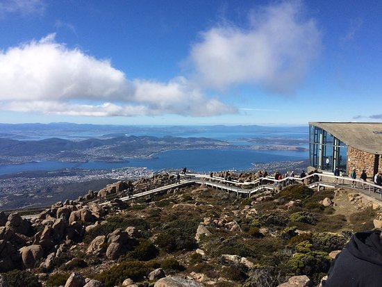 Greater Hobart, Australien: kunanyi/Mt Wellington