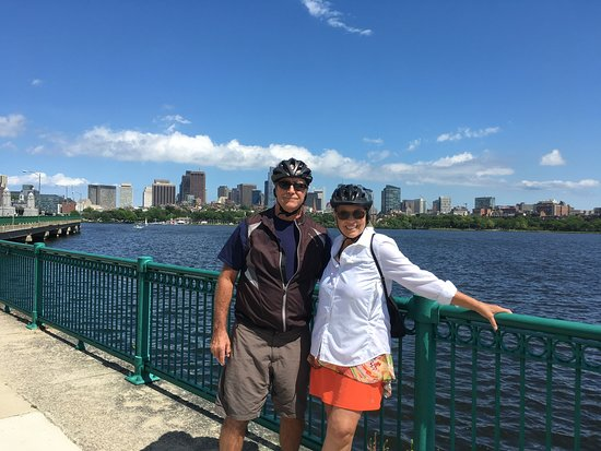 Tour de Boston Bike Tour (Great for families): What great scenery.