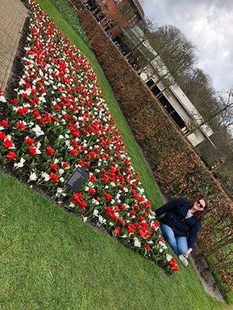 Кёкенхоф: Among the flowers
