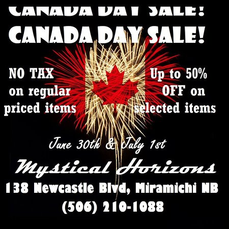 Miramichi, Canada: Canada Day sales are happening!