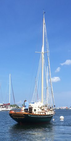 S/V Morgana, traditional gaff-rigged ketch - Picture of