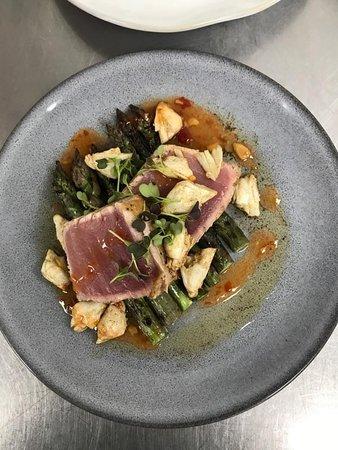 MMR Prime Steakhouse: Chef Favela's Bigeye Ahi Tuna Special