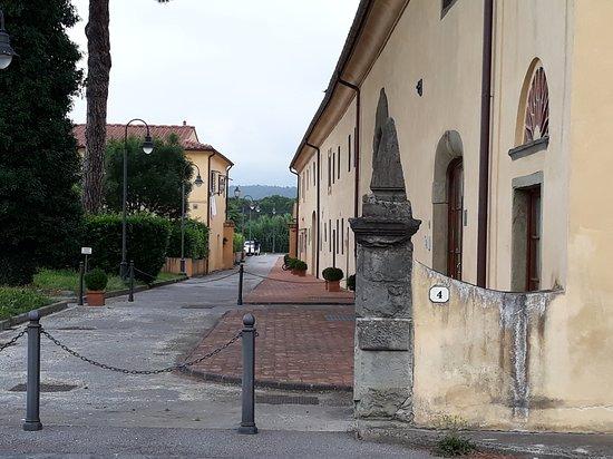 Villa Castello Smilea: parte posteriore