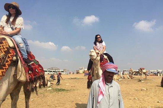 Visita guiada a las pirámides de Giza...