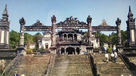 """ Khai Dinh Royal tomb - JM Da Nang Car Rental"""