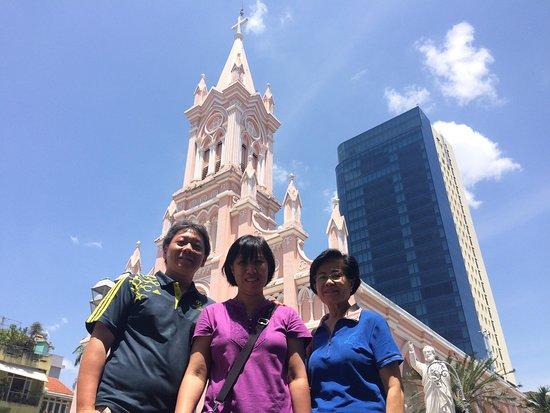 "Da Nang Car Rental: ""Danang car rental - Pink Church in Da Nang"""