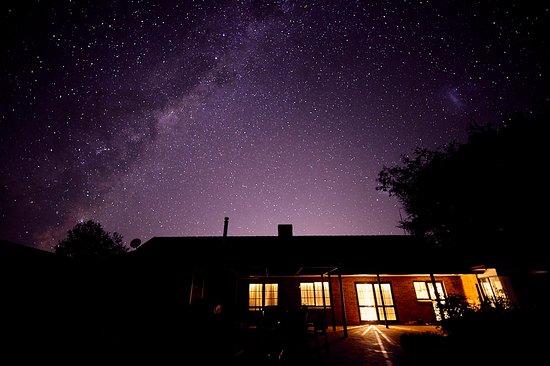 Clover Downs Homestead: Clear Night Sky