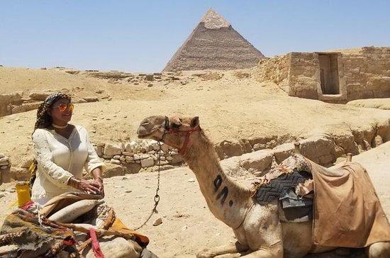 Gizeh Pyramiden Sphinx Mittagessen...