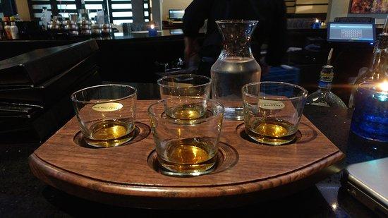 MMR Prime Steakhouse: Balvenie Scotch Flight