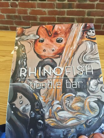 Bilde fra Rhinofish Noodle Bar