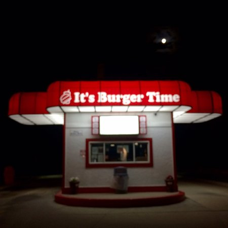 Burger Time... anytime? Not at 11pm.