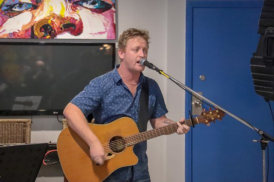 Blue Water Bar and Restaurant: Brock Colley - Recently performed Sunday 24th June 2018