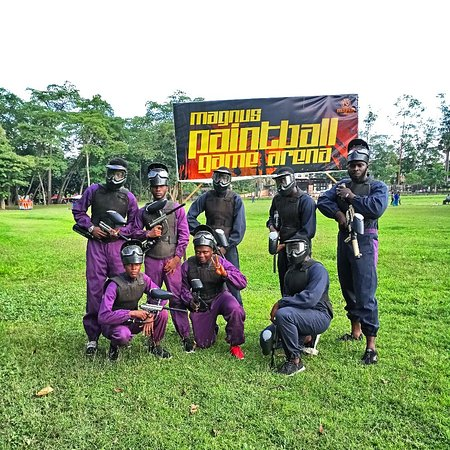 Ibadan, Nigeria: Magnus Paintball Game Arena