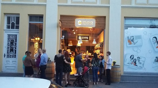Burgas, Bułgaria: great wine party