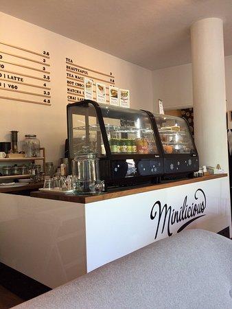 Minilicious Tea & Caphe: 店内の様子