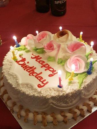Vietheritage Restaurant: Birthday cake