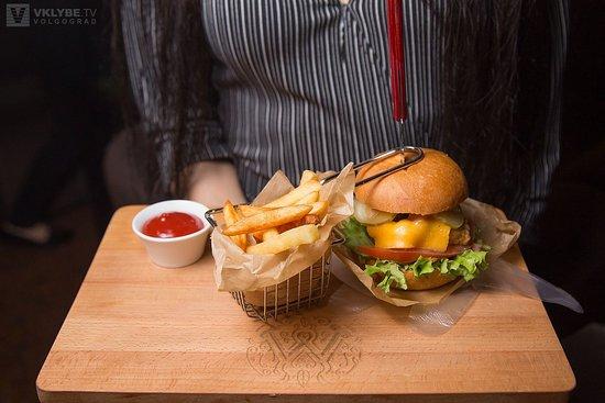 Myata Lounge: Сочные бургеры