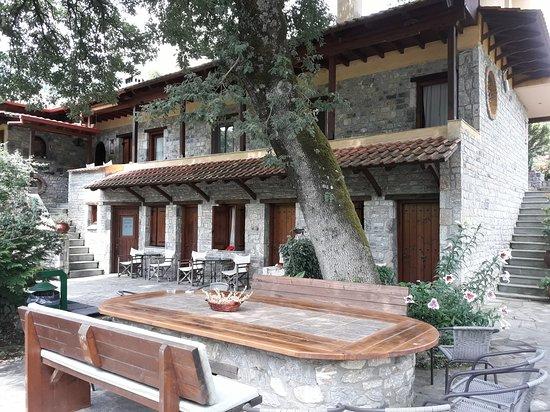 Kokkino Nero, Grécia: Pensjonat
