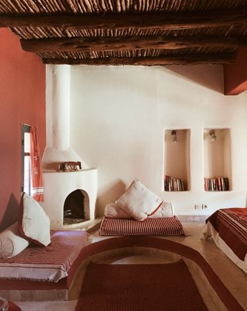 Riad Baoussala: The Red Room