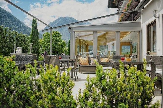Pension Tannenhof: Terrasse