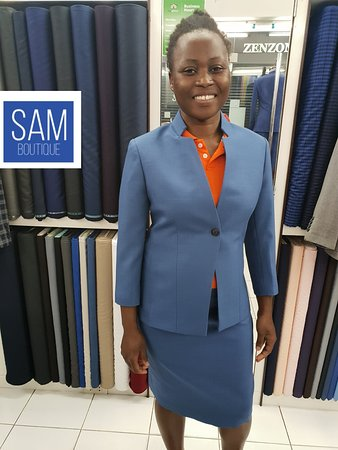 Sam Boutique Custom Tailor: Custom made suit for women by Sam Boutique