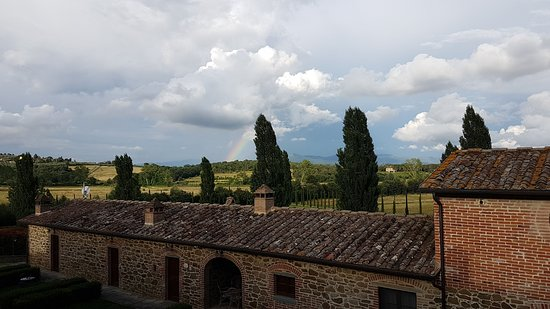 Ciggiano, Italien: Beutiful scenery in Tuscany