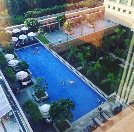 Crowne Plaza Hotel Gurgaon: View from the Presidential Suite