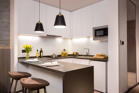 Citadines Gaoxin Xi'an: Studio Kitchen