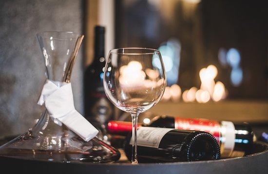 Havirov, Czech Republic: Odpočinek u sklenky vína...