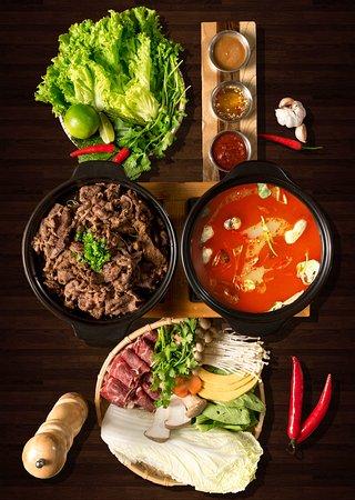 Nha Hang Nuong Han Quoc K-BBQ: SET LẨU + THỊT NƯỚNG
