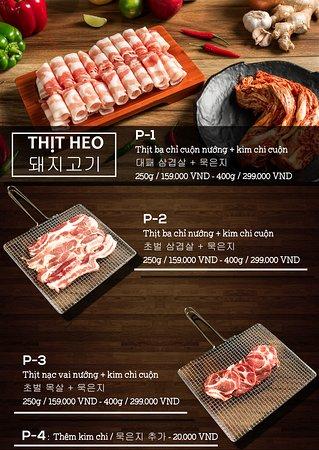 Nha Hang Nuong Han Quoc K-BBQ: HEO NƯỚNG