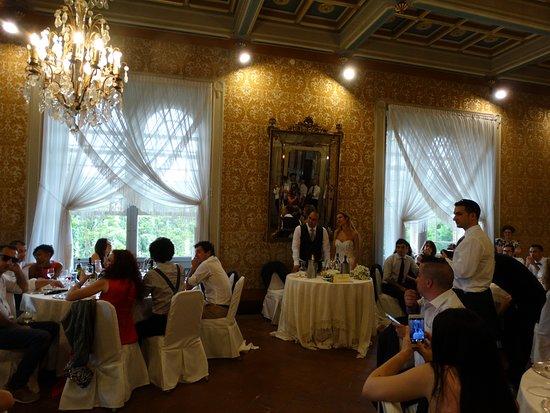Relais del Castello di Oviglio: la sala da pranzo