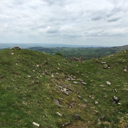 Talgarth, UK: Remains of an Iron Age Castle