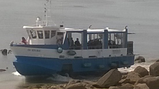 Tatihou island saint vaast la hougue aktuelle 2018 - Bateau sur roues ...