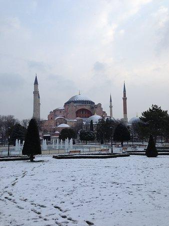 BarefootPlus Travel: Hagia Sophia in Winter - Istanbul