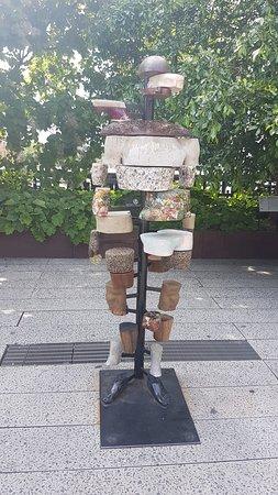 Парк Хай-Лайн: Kunst på High Line