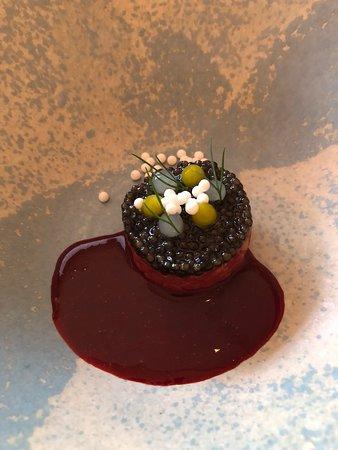Restaurant Haerlin: Tartar with Imperial caviar