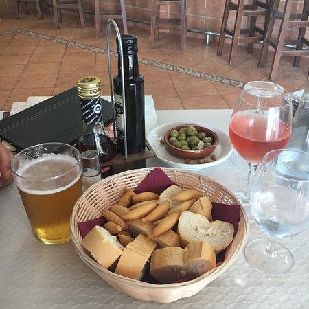 Fuente de Piedra, Spain: Ægte spansk