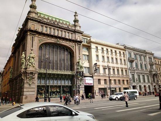 St. Petersburg, Russland: Nevskiy Prospect