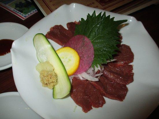 長野の郷土料理を楽しめた