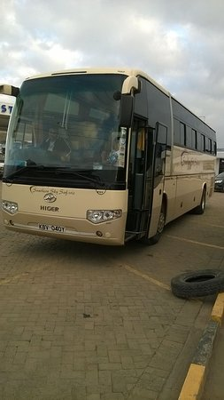 Nairobi Airport Transfer and Tours: Luxury buses for group travel Nairobi like conference
